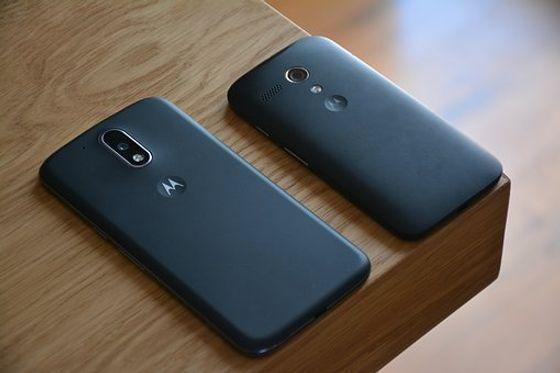 Motorola slim mobile