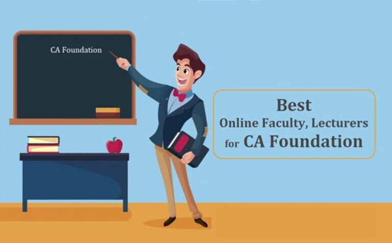 Which CA Foundation online classes are good to enrol?