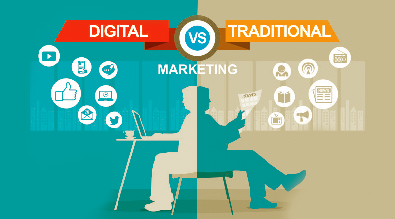 What is the Difference Between Traditional Marketing and Digital Marketing?