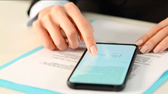 Document signing apps for Mobile Phones